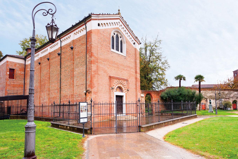 斯克羅威尼禮拜堂,位於意大利威尼托帕多瓦。禮拜堂以喬托的濕壁畫而聞名。(Fotolia)