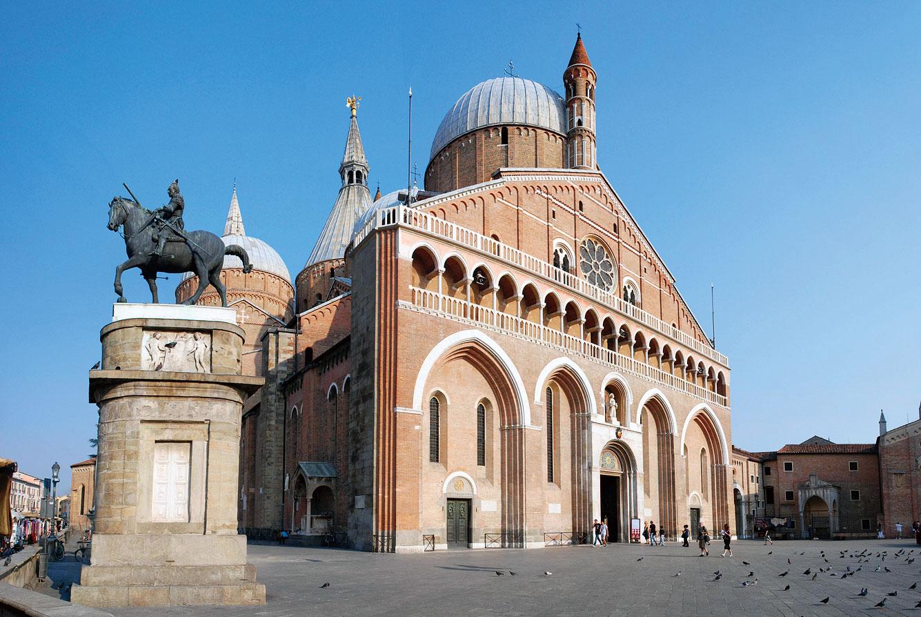文化名城帕多瓦的聖安東尼奧教堂Basilica di Sant'Antonio。(Fotolia)