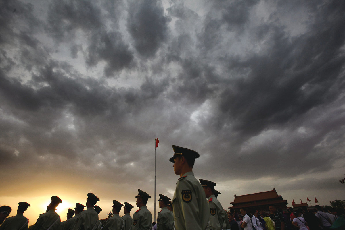 中共在國內已處於草木皆兵的恐懼中,在國際上則越來越孤立,受到的圍堵進一步加劇。(Getty Images)