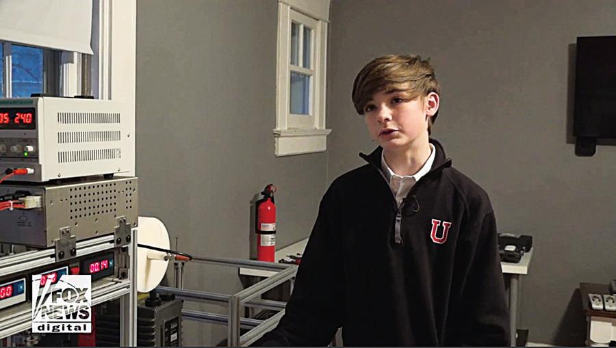 美13歲少年在家自製反應器 成功運作核聚變