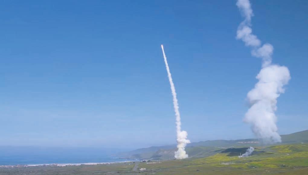 美軍成功測試導彈防禦系統