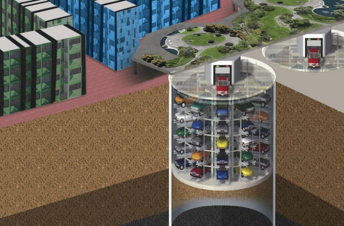 運輸署昨日向深水埗區議會提交文件,建議在區內設立地下智能停車場,預計可提供二百個泊車位。(運輸署文件)