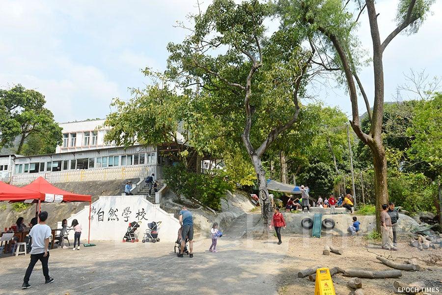 鄉師自然學校充滿自然氣息,座落在屯門的一座小山坡上。(宋碧龍/大紀元)