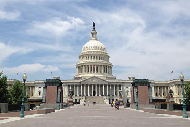 3月26日,美國國會眾議院未能通過推翻特朗普總統否決國會通過的反對邊境緊急聲明議案。(程新/大紀元)