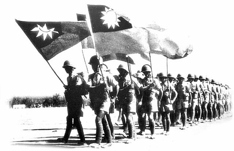 第二次世界大戰初期,在中國戰場曾有一支2,000人的國民黨部隊,在南京東南30餘里外的青龍山山區,被日軍包圍,然後神秘消失。(攝影/林伯東)