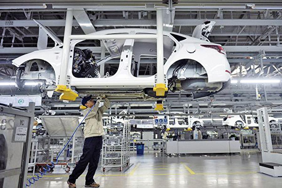 創2011年來新低 中國工業利潤下降14%