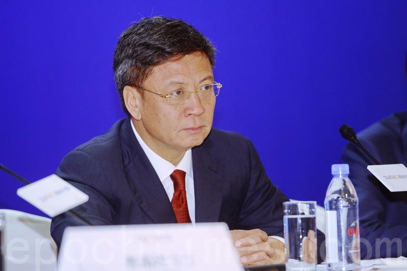 孫宏斌表示,年大陸樓市不太樂觀,因為調控政策放鬆力度比想像中低。(宋碧龍/大紀元)