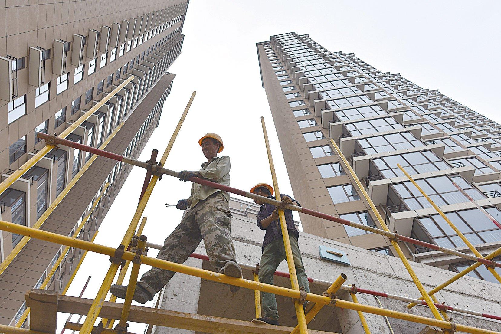 中國經濟如今處於「外」熱「內」冷狀態。(Getty Images)