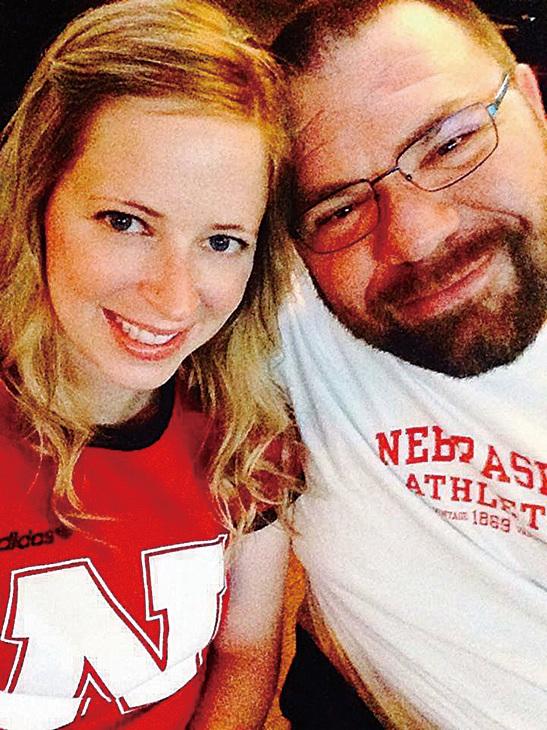 安妮和先生。(Leigh Anne Skoda Facebook)
