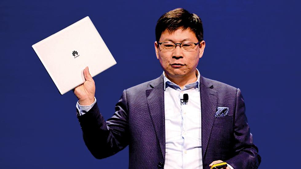 美國微軟公司發現,華為手提電腦上確實裝有後門。(AFP)