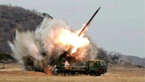 疑北韓成功發射中程導彈