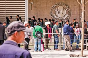 回家過寒假中國留學生返美簽證審批傳出現延遲 美國務院:正在改進篩選程序
