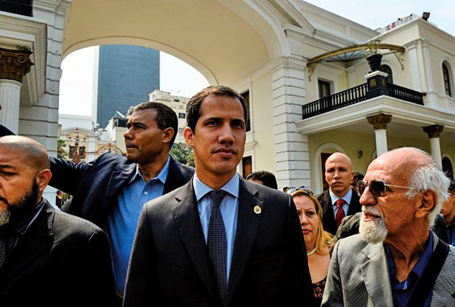 委國瓜伊多議長豁免權 馬杜羅欲剝奪 外界擔憂