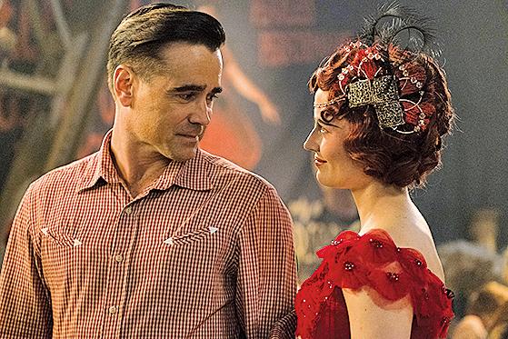 米莉與喬的父親霍特跟高空特技女表演者柯蕾有感情戲份。