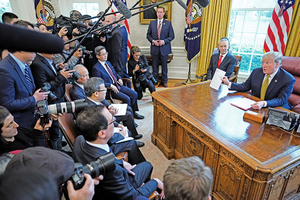 中美貿易談判下周繼續視訊會議 特朗普:若無協議免峰會
