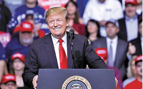 美國總統特朗普明確指出共產主義帶來災難與毀滅,呼籲世界各國抵制。(The Epoch Times)