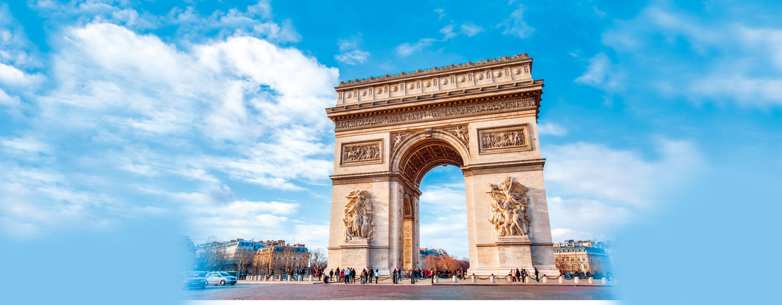 巴黎凱旋門。(Fotolia)