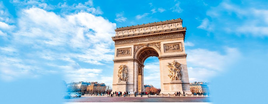 法國凱旋門的愛國藝術