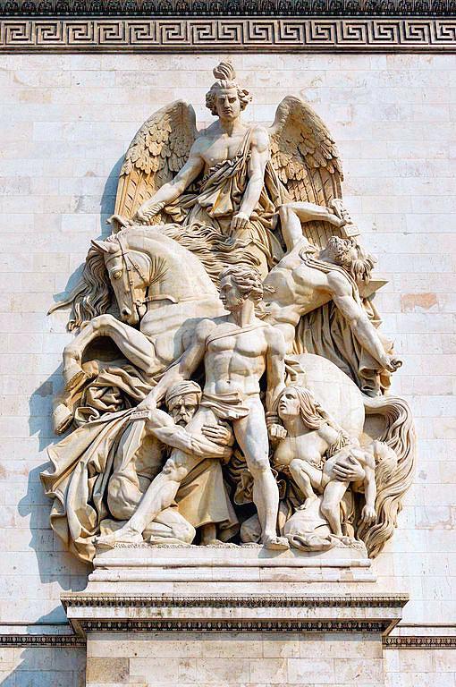 艾戴克斯(Antoine Etex),《1814年的抵抗》。(Jebulon攝於2013年5月2日/維基公有領域)