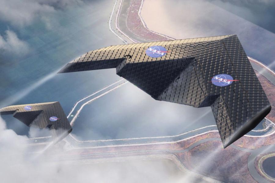 NASA聯手MIT研發可變形機翼