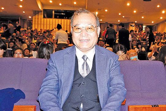 台灣教育企業集團總裁陳伯宇。(李芳如/大紀元)