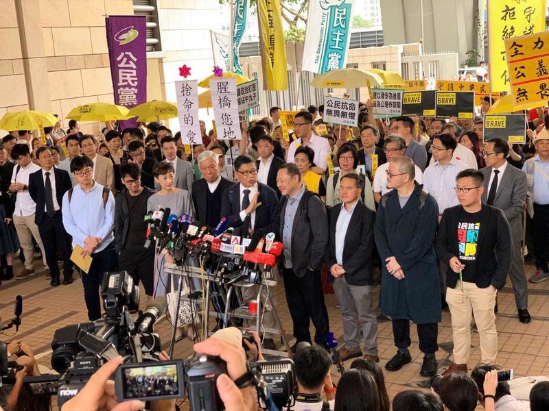 國際特赦:九子被判罪成 重挫香港言論自由