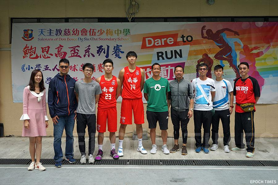 李校長鼓勵學生們參加各種比賽。(受訪者提供)