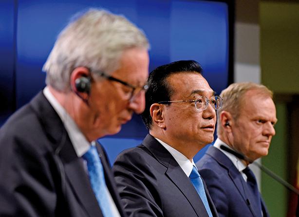 歐盟對華轉強 聯合聲明強調監督和執行