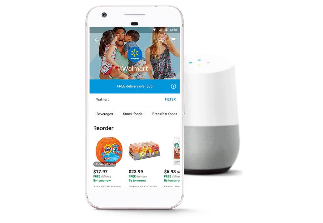 沃爾瑪聯手谷歌,推出語言購物。(Walmart)