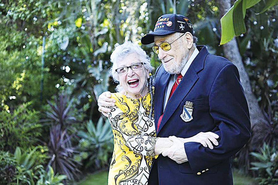 二戰期間失聯 76年後老兵如願約到心靈伴侶