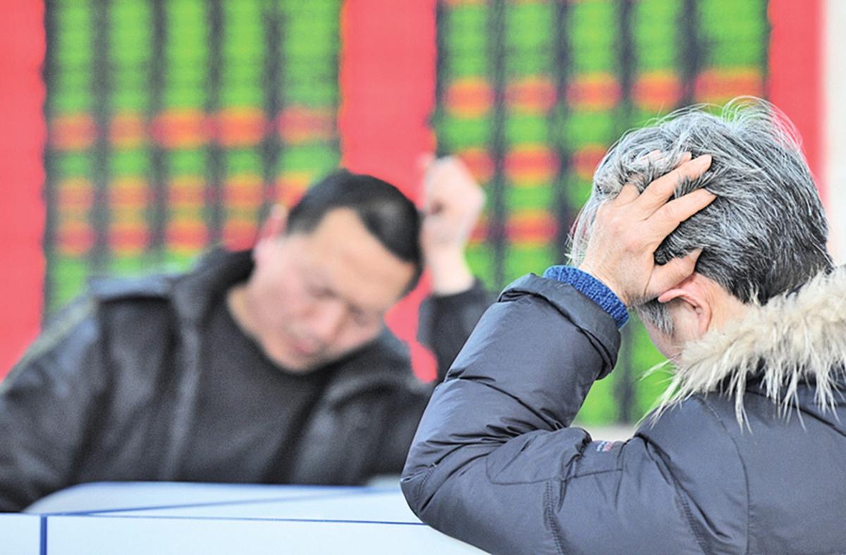 中國股市表現不佳,連帶影響台灣股市,也讓消費者對投資股票信心顯著下降。(大紀元資料室)