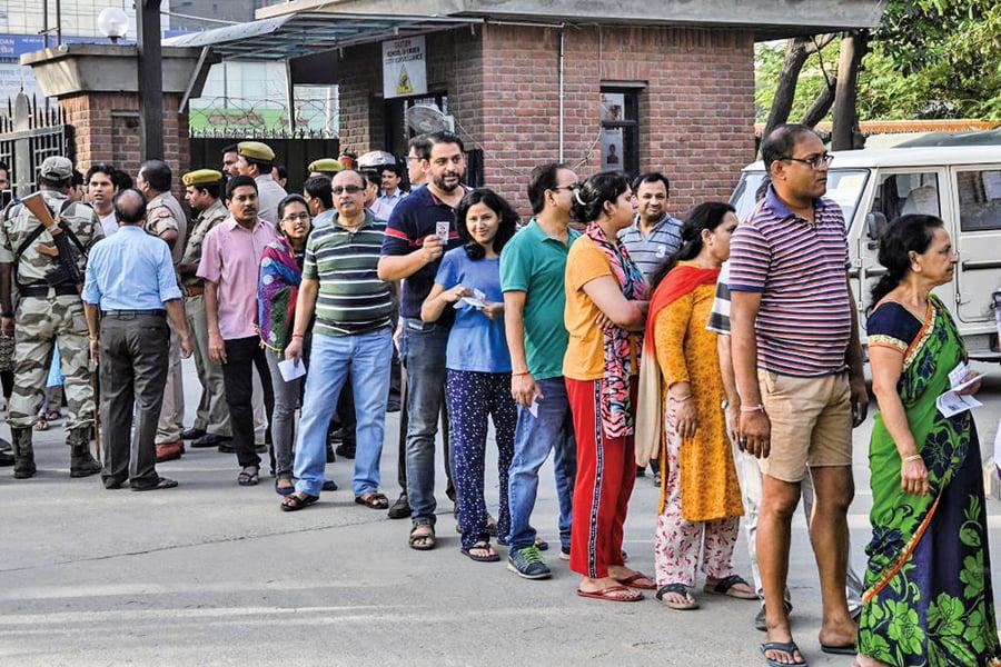 印度國會選舉 近九億選民投票