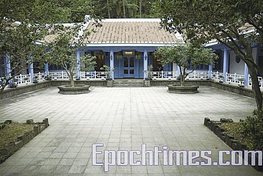 慈湖賓館,蔣介石棺槨奉厝之地。(大紀元)
