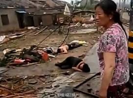 龍捲風重創江蘇阜寧 傷亡人數不明 國道中斷