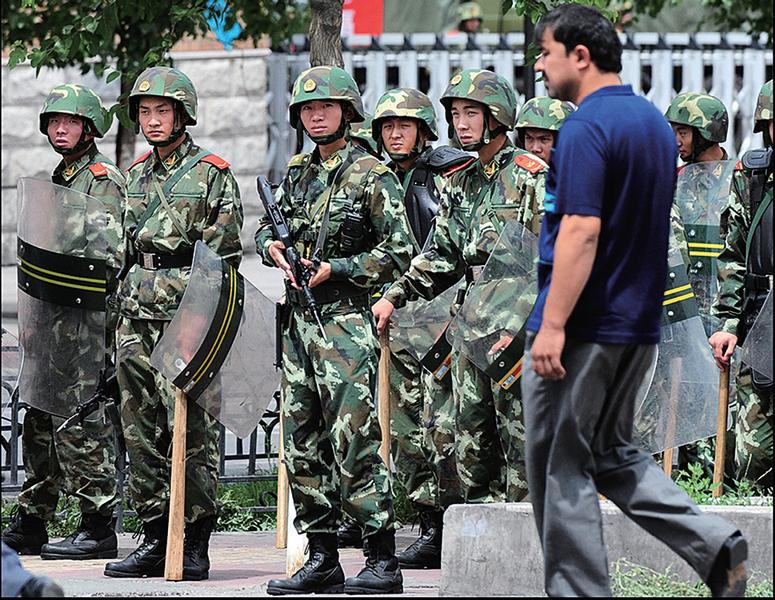 新疆「十戶聯防」鎮壓維族人
