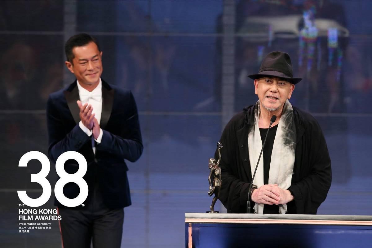 黃秋生憑著在《 淪落人 》中精彩的演出,獲得最佳男主角。(香港電影金像獎  Facebook)