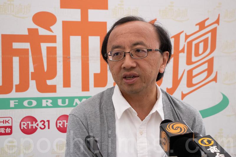 張達明批評政府一直在消費港人在台灣殺人案,直言若當局很「心急」,就應先用「容易」的方法處理。(蔡雯文/大紀元)