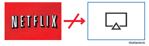 壓制蘋果TV Plus Netflix將停止支持AirPlay