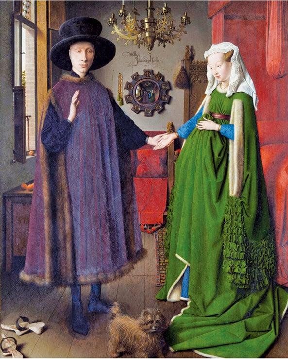 范艾克《阿諾菲尼的婚禮》1434年。