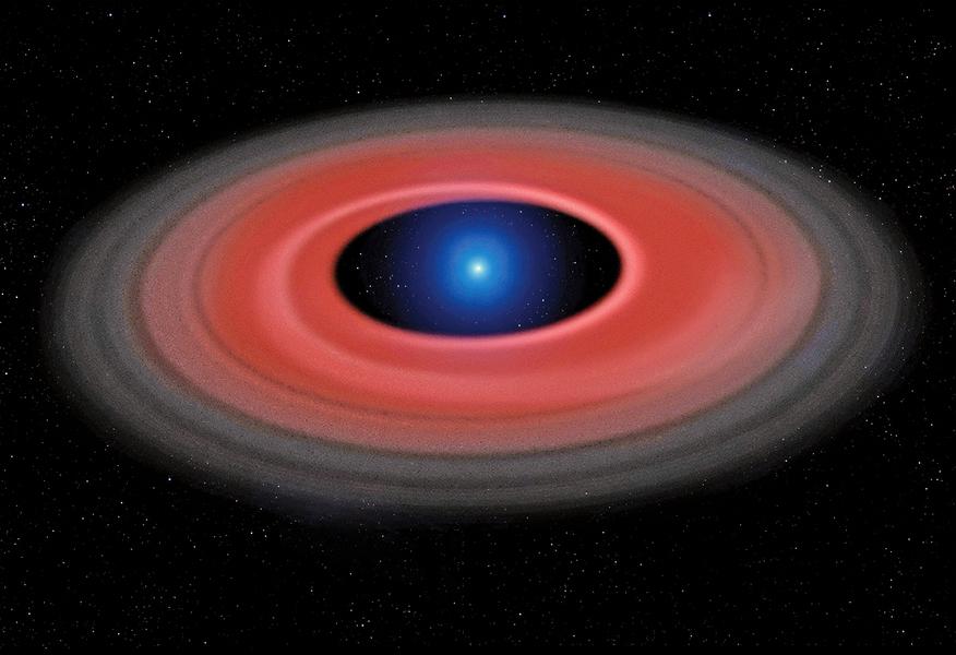 ( 或預示太陽系未來 )行星殘骸災變中倖存 或預示太陽系未來