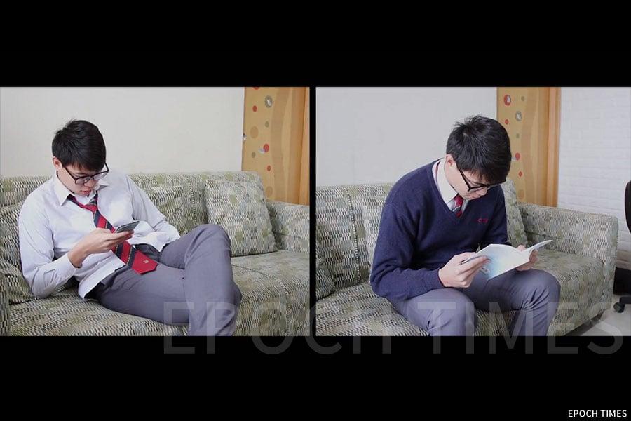 中學組冠軍(裘錦秋中學(元朗)《一禮之差》)劇照。(主辦方提供)