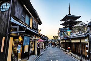 正在消失的京都古風街景