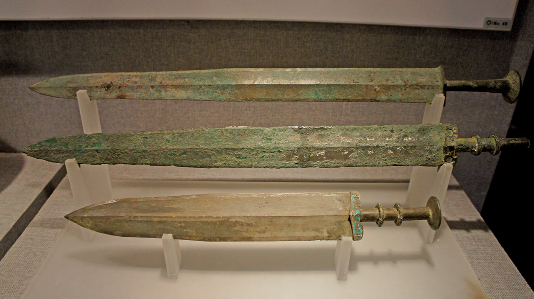 兵馬俑青銅器或未使用鍍鉻防銹技術