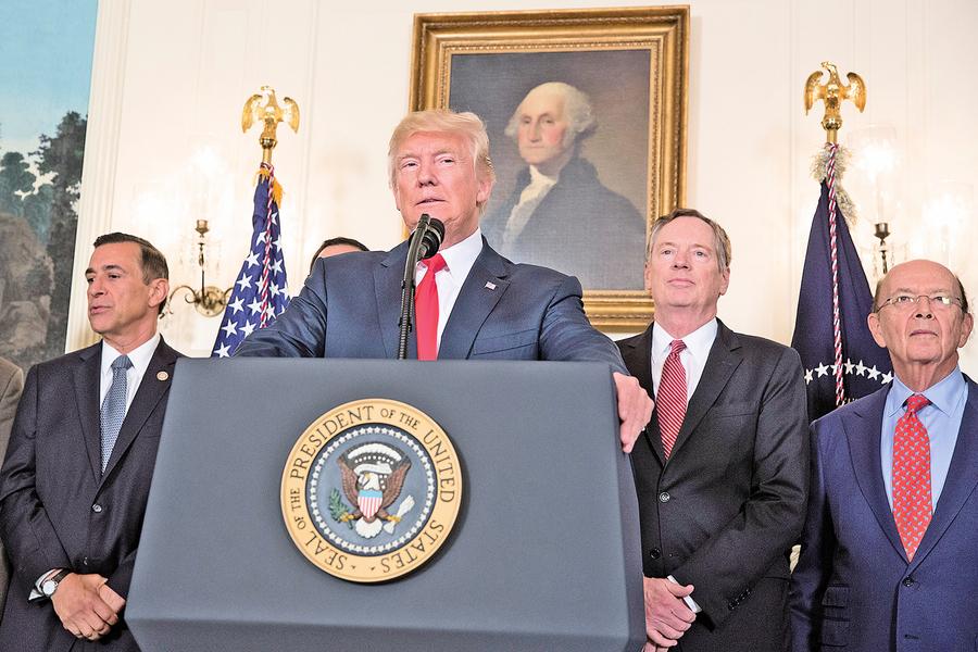特朗普扭轉美最大外交失誤