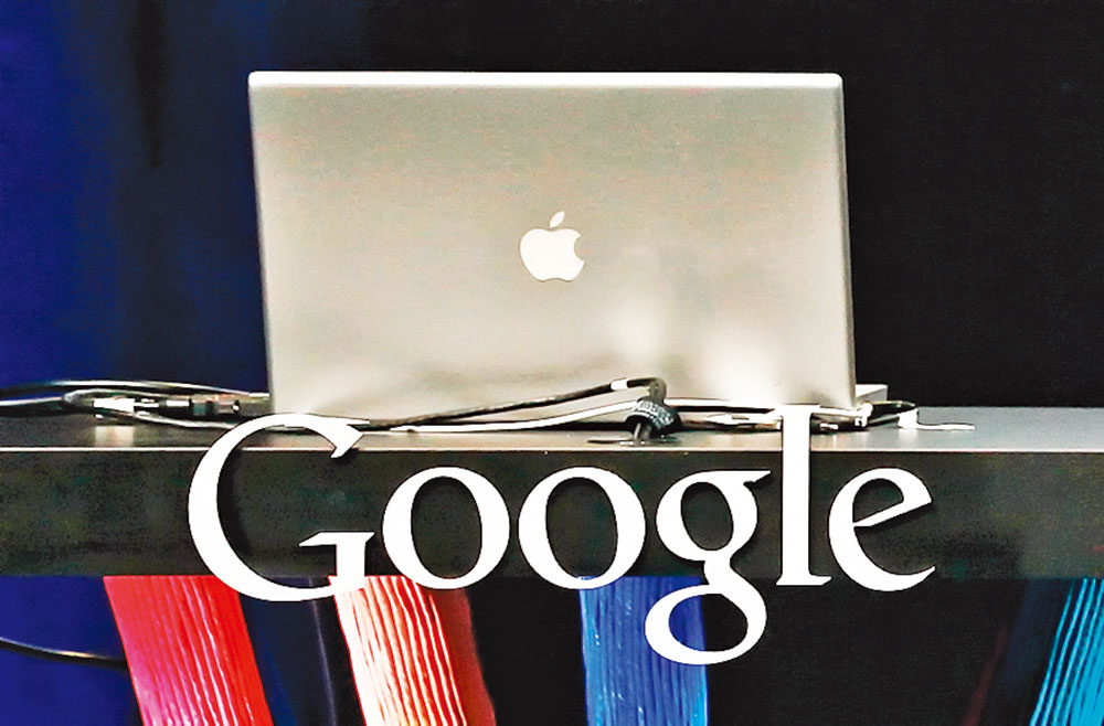 谷歌電子郵件和蘋果iPhone電子郵件應用,誰更受歡迎?(Justin Sullivan/Getty Images)