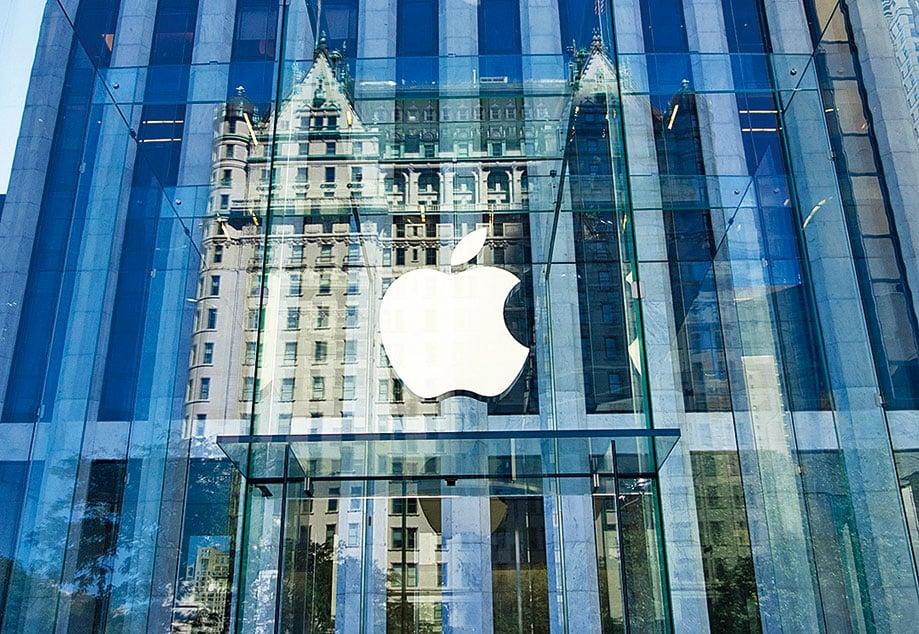 全球科技巨擘蘋果與晶片大廠高通宣佈和解,撤銷全球範圍的訴訟。(AFP)