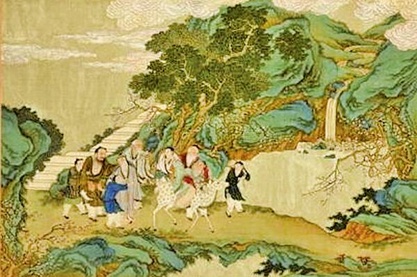 萬年不老〈蟠桃宴會〉(公有領域)