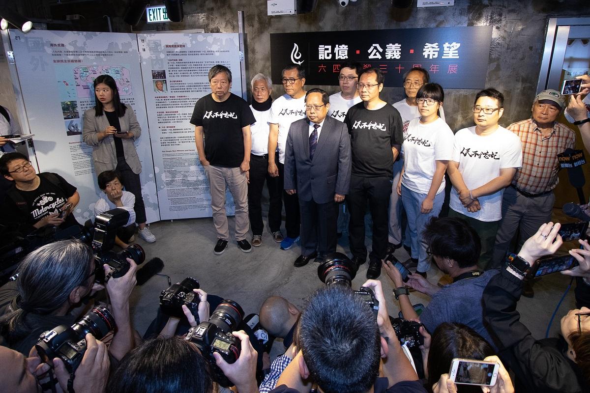 六四紀念館4月26日重開,支聯會主席何俊仁強調重開是展示對保障歷史真相信念和追求公義。(蔡雯文/大紀元)