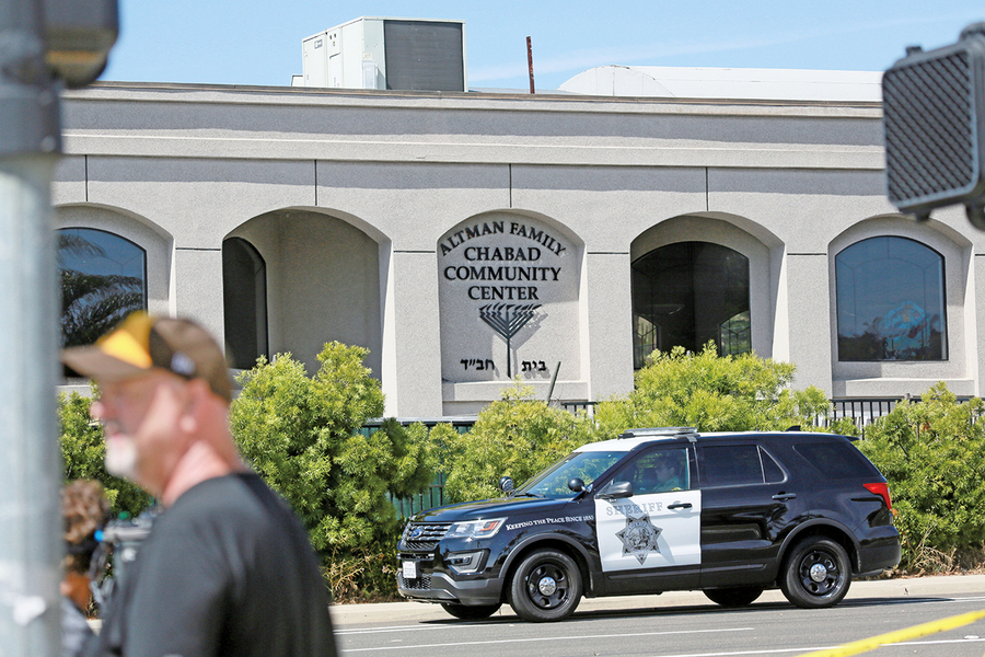 加州猶太會堂爆槍擊案 一死三傷
