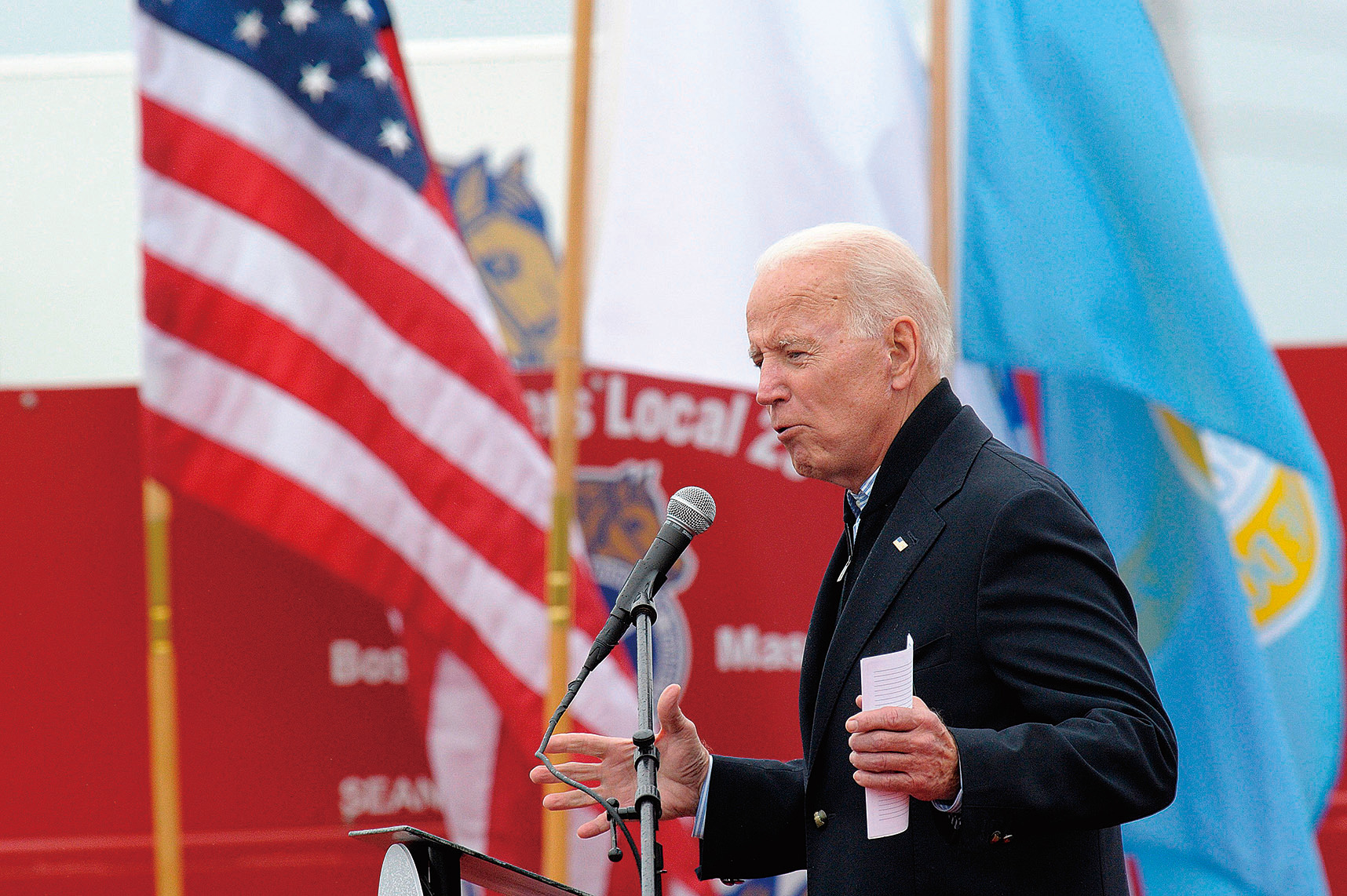 前副總統拜登在美國參與烏克蘭政治活動中發揮了重要作用,據稱導致了烏克蘭檢察官的解僱。(Getty Images)